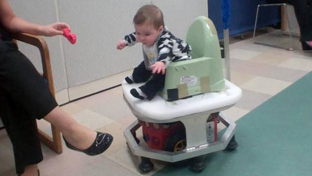 'WeeBot' Puts Babies in the Driver's Seat