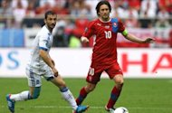 Rosicky: Portugal deserved to win but Czech Republic players can be proud