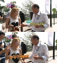 HyoYeon thought as a foreigner