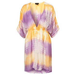 Tie Dye Kaftan Cover Up Topshop: Beach