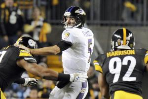 Roethlisberger shines, Steelers drop Ravens 43-23