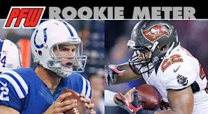 Rookie Meter: Records fall, Luck rises