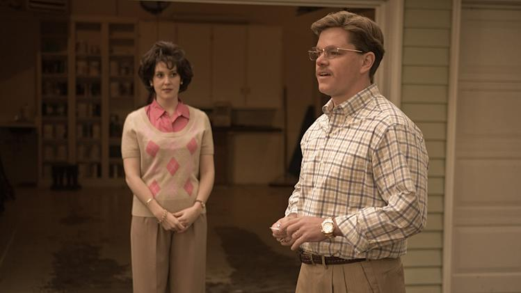 The Informant Production Photos 2009 Warner Bros. Melanie Lynskey Matt Damon