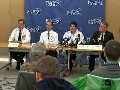 Boston Doctors: Recovery 'Is a Marathon'