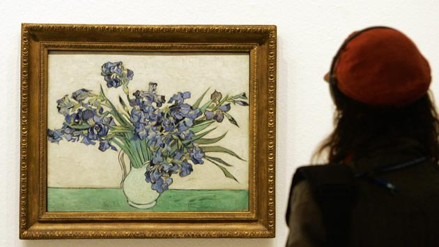 """""""Irises"""" by Vincent van Gogh, sold for $53.9 million in 1987."""