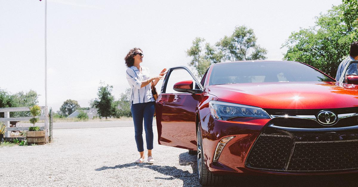 The 2015 Toyota® Camry