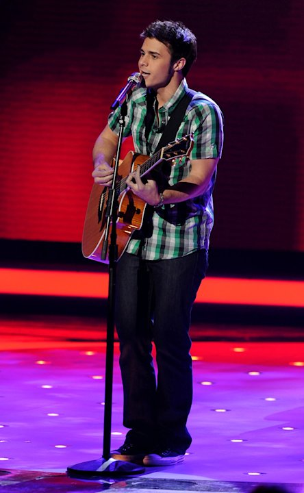 Kris Allen performs