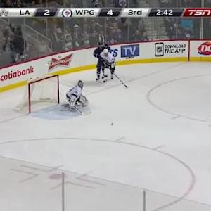 Martin Jones Save on Andrew Ladd (17:18/3rd)