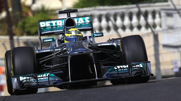 2013 GP of Monaco Mercedes Rosberg