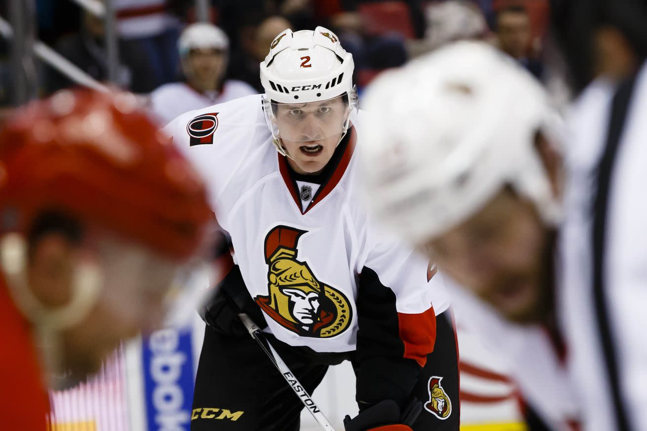 Dion Phaneuf is having a horrible debut with the Ottawa Senators