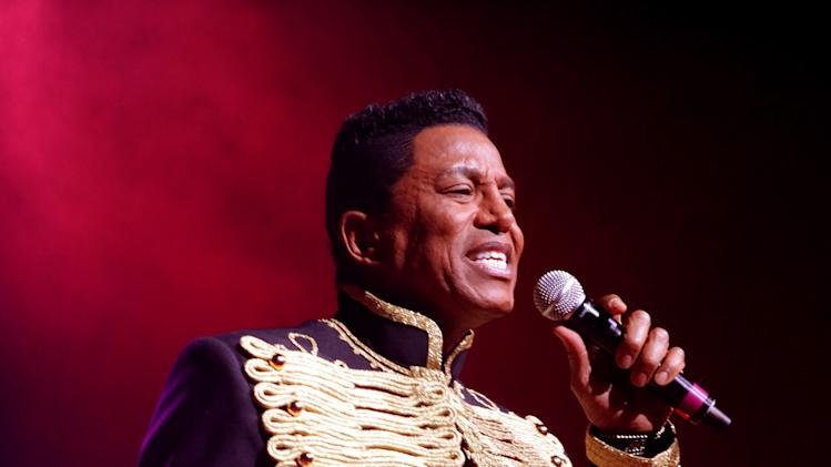 FILE - In this June 22, 2012 file photo, Jermaine Jackson performs with The Jacksons on their Unity Tour 2012 at Star Plaza in Merrillville, IN. A judge on Friday Feb. 22, 2013, approved a name change petition for the Jackson 5 singer, whose legal name is now Jermaine Jacksun. (Photo by Barry Brecheisen/Invision/AP, File)