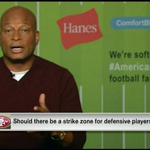 Ronnie Lott: If you're a professional, you'll work hard to tackle legally