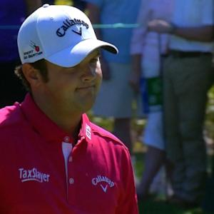 Patrick Reed birdies No. 17 at Deutsche Bank