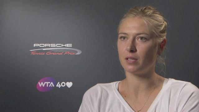 Maria Sharapova wins Porsche Grand Prix title