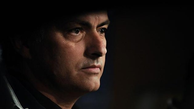 Real Madrid coach Jose Mourinho (AFP)