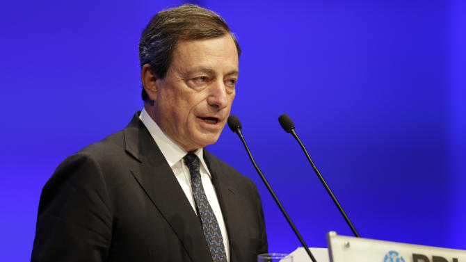 ECB's Draghi defends bond-buying plans to Germans