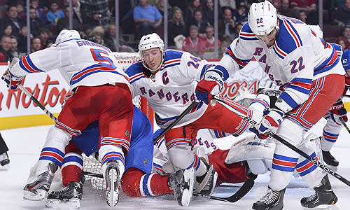 New York Rangers are fighting to make the NHL playoffs