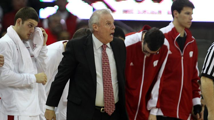 NCAA Basketball: Michigan State at Wisconsin