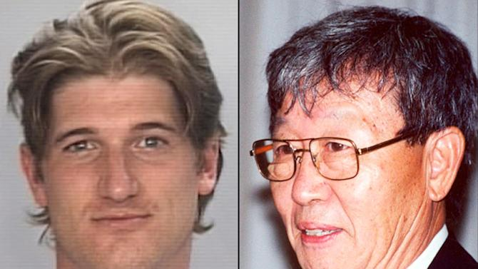 This combination of undated photos provided by the University of Missouri Police Department shows Timothy Hoag, left, and University of Missouri scientist Jeong H. Im who was killed in 2005. University officials said Wednesday, Jan. 30, 2013 that Im was killed by Hoag who took his own life five months ago. (AP Photo/University of Missouri Police Department)