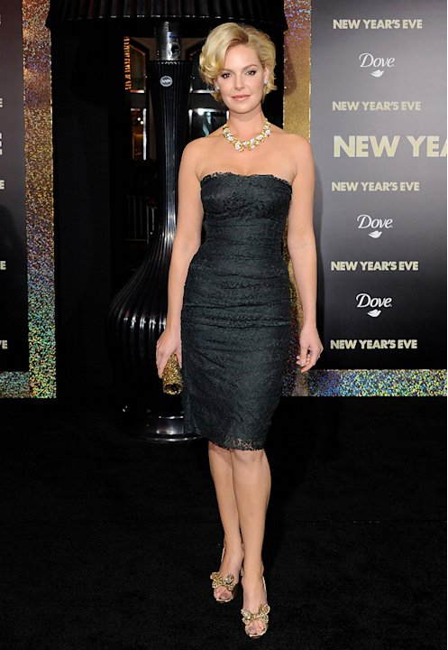 New Year's Eve LA Premiere 2011 Katherine Heigl