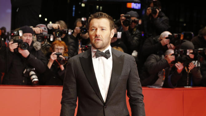 Joel Edgerton arrives on the red carpet for the screening of Midnight Special, at the 2016 Berlinale Film Festival in Berlin, Wednesday, Feb. 10, 2016. (AP Photo/Michael Sohn)