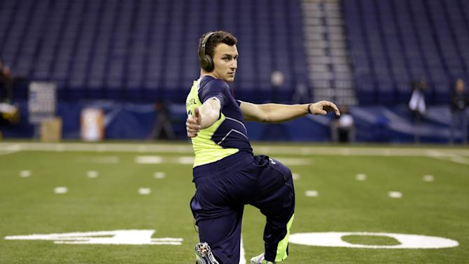 Manziel runs 40-yard dash in 4.68 seconds
