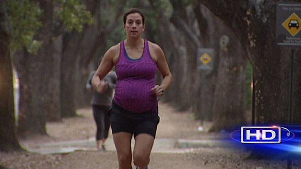 Jogging while pregnant: How much is too much?