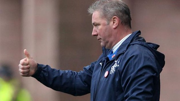 Rangers manager Ally McCoist is relishing the trip to Dundee United