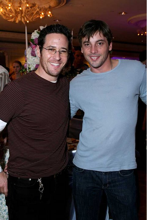 "Rob Morrow and Skeet Ulrich at the ""Cinderella III: A Twist in Time"" DVD Release Benefiting St. Jude Children's Research Hospital."
