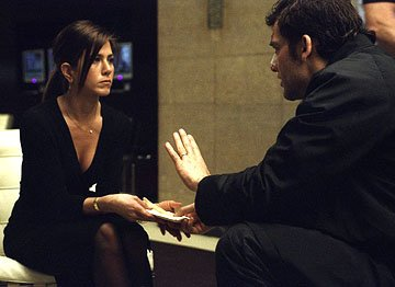 Jennifer Aniston and Clive Owen in The Weinstein Company's Derailed
