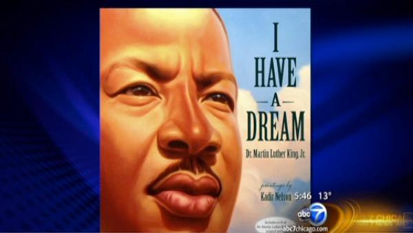 Martin Luther King Jr. 'I Have a Dream' speech illustrated