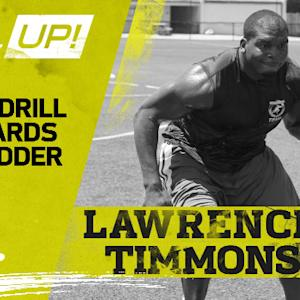 NFL Up!: Backwards with Ladder drill