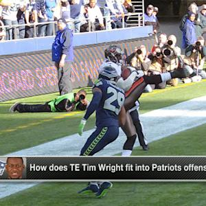 Shaun O'Hara: Patriots have 'twin towers' with addition of Tim Wright