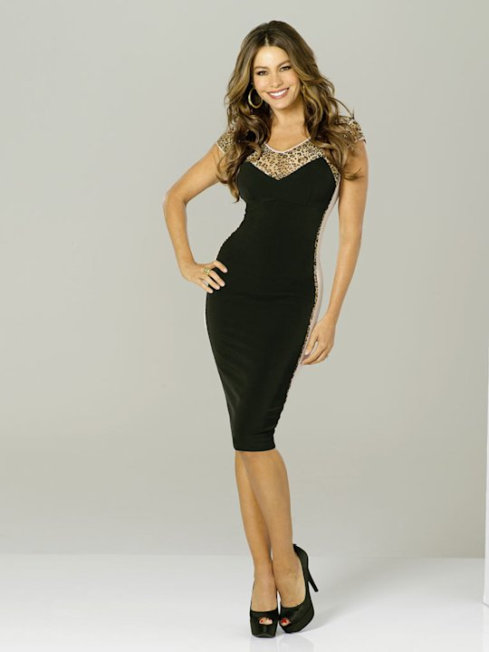 "Sofía Vergara stars as Gloria in ""Modern Family."""