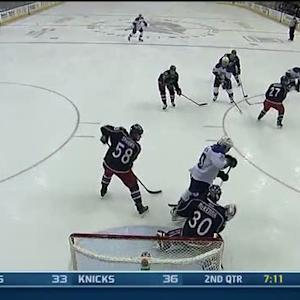 Vladimir Tarasenko goes short side on McKenna