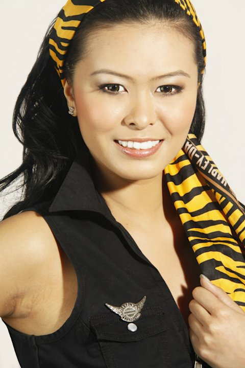 Belinda Teo, 20, is a freelance model who loves singing. (Photo courtesy of Derrol Stepenny Promotions)