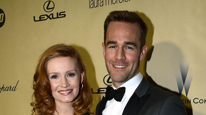 The Weinstein Company's 2013 Golden Globe Awards After Party Presented By Chopard, HP, Laura Mercier, Lexus, Marie Claire, And Yucaipa Films - Red Carpet: Kimberly Brooks and James Van Der Beek
