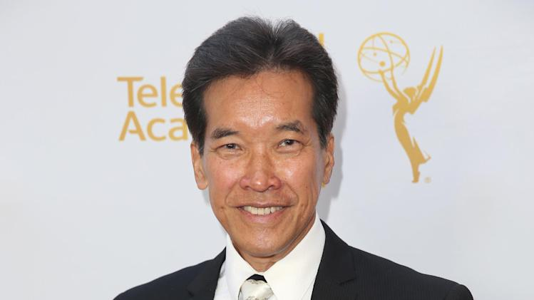 Peter Kwong arrives at the Television Academy's 66th Emmy Awards Performers Peer Group Celebration at the Montage Beverly Hills on Monday, July 28, 2014, in Beverly Hills, Calif. (Photo by Matt Sayles/Invision for the Television Academy/AP Images)