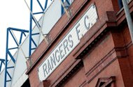 Glasgow Rangers football club in Glasgow, Scotland. The saga over ailing Scottish giants Rangers took a fresh twist on Tuesday after the US businessman tipped to take over the club withdrew his bid, it was confirmed