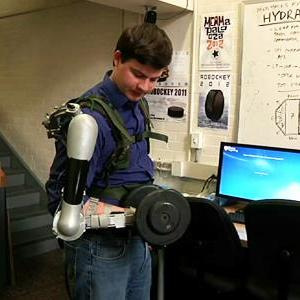 Pa. Students' Robotic Arm Can Make You Stronger