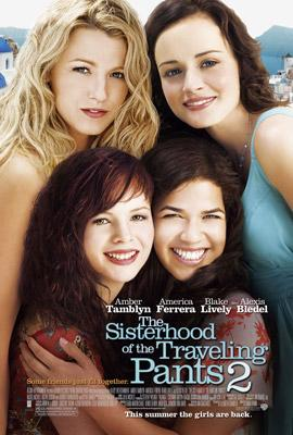 Blake Lively , Alexis Bledel , Amber Tamblyn and America Ferrera star in Warner Bros. Pictures' The Sisterhood of the Traveling Pants 2