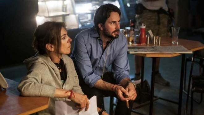 Director Kathryn Bigelow and writer Mark Boal on the set ofZero Dark Thirty:Bigelow, who won Best Director for The Hurt Locker, was snubbed this year.