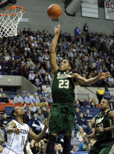 Napier leads UConn over South Florida 69-64 in OT