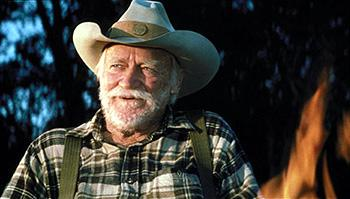 Richard Farnsworth as Alvin Straight in Disney's The Straight Story