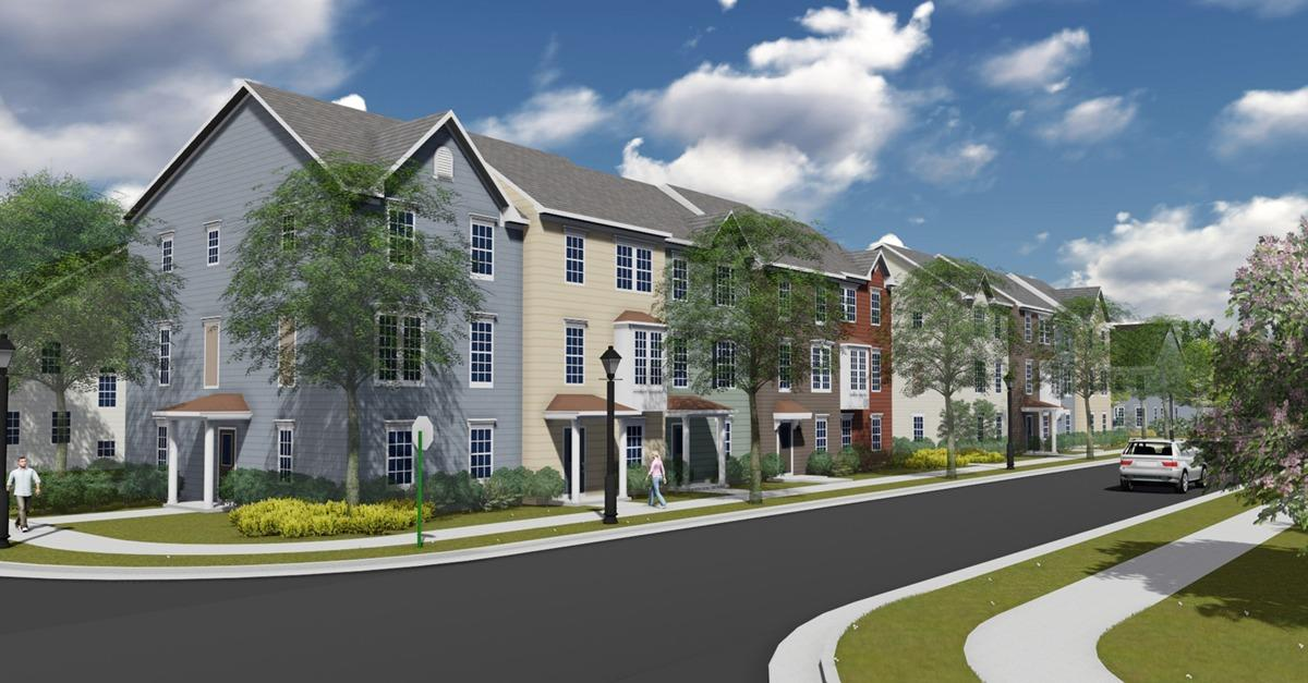 Spacious Townhomes and Small-Town Living