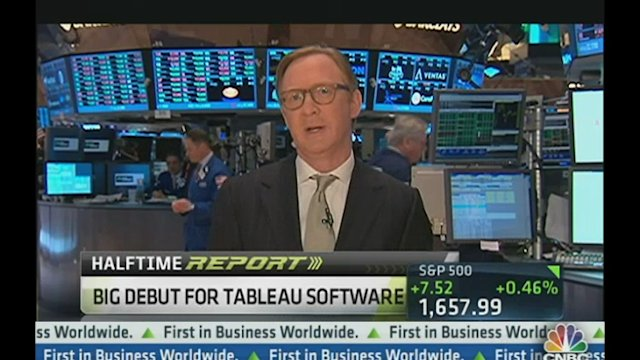Big Debut for Tableau Software
