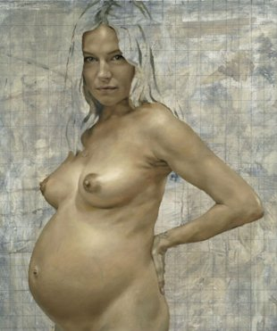 Sienna Miller: Nude Portrait Of Pregnant Actress Unveiled
