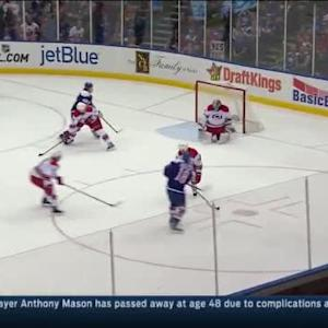 Cam Ward Save on Ryan Strome (11:36/2nd)