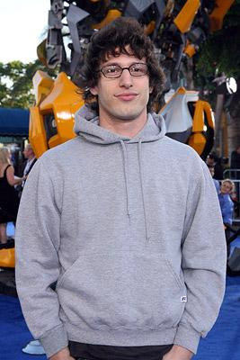 Andy Samberg at the Los Angeles premiere of DreamWorks/Paramount Pictures' Transformers