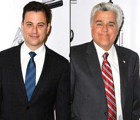 Jimmy Kimmel Slams Jay Leno: &quot;I Don&#39;t Believe He Has Actual Feelings&quot;
